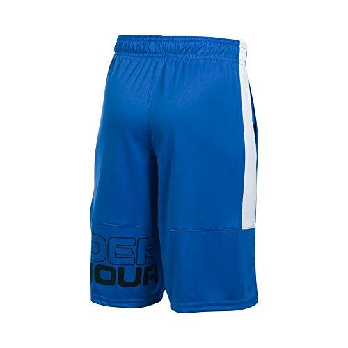 Under Armour Boys' Instinct Shorts, Ultra Blue/White, Youth X-Large