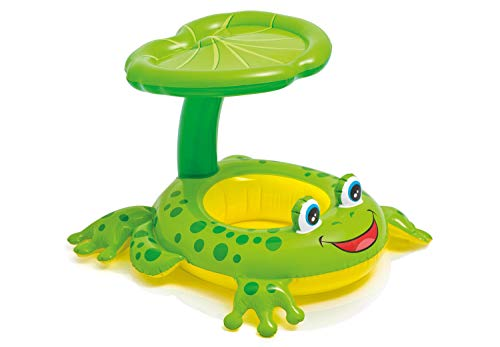 "Intex Recreation 56584EP Froggy Friend Shaded Baby Float Toy, 8"", Multicolor"