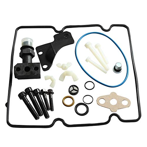 Fuel Update Kit Injection (Fuel Injector Pump/Fuel Injection Pump O-Ring Fit For Ford 6.0 High-Pressure Oil Pump (HPOP) 4C3Z-9B246-F Fitting Update O-Ring Repair Kit, High PSI Oil Pump)