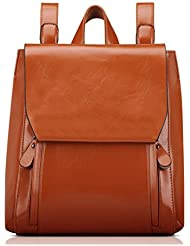 TIBES Casual Womens Backpack Fashion Faux Leather Backpack School Bag