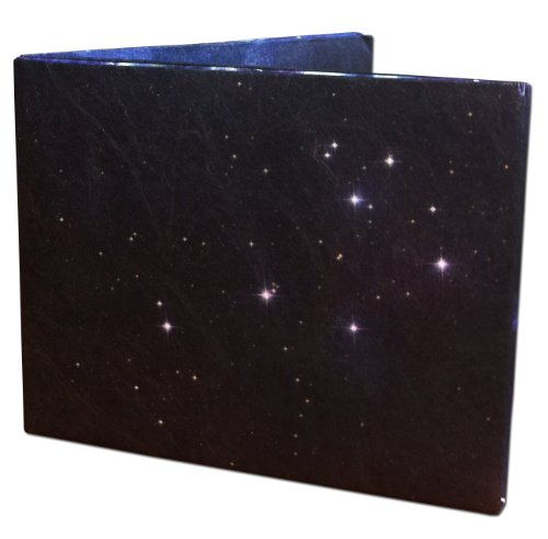 Karma Wallet Paper Thin Tyvek Wallet Space Stars Design - One Size - Blue