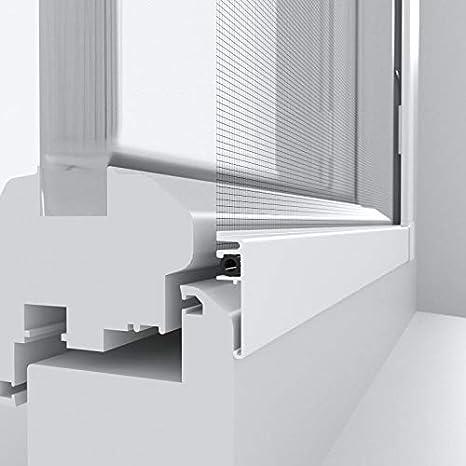 WIP Insektenschutz Rahmenfenster SLIM 100x120cm wei/ß