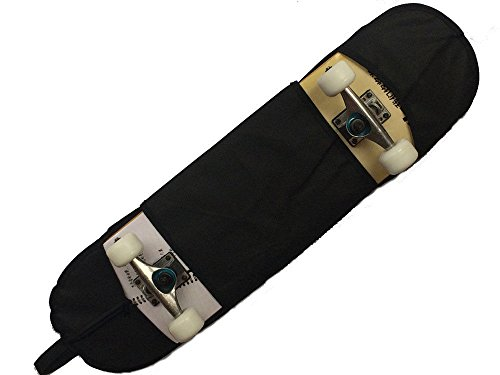 FidgetFidget Skateboard Carry Bag Standard Skate Handy Desk Backpack Case Strap 32x8 Black by FidgetFidget