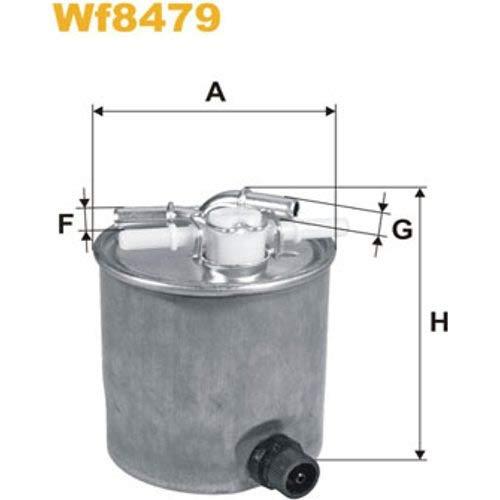 WIX FILTERS WF8479 Fuel Injectors: