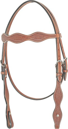Western Rawhide 224006-54 Scalloped Brow ()