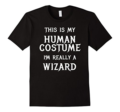 Mens Wizard Halloween Costume Shirt Easy Funny for Men Boys Girls Large (Kids Wizard Outfit)