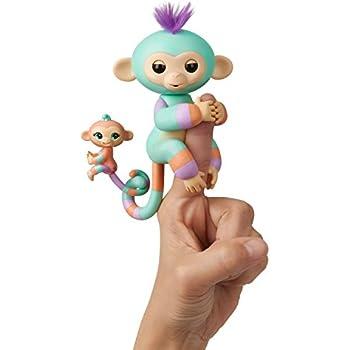 Amazon Com Fingerlings 2tone Monkey Summer Pink With Orange