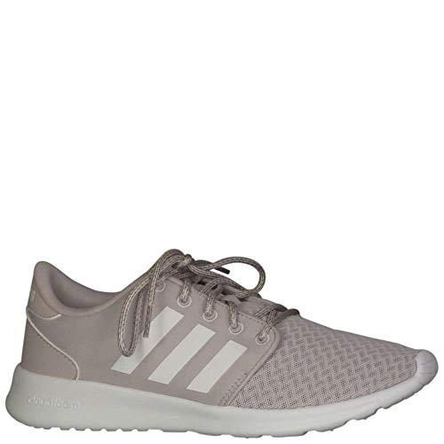 adidas Cloudfoam QT Racer Shoe - Women's Running 6.5 Ice Purple/White/Light Granite