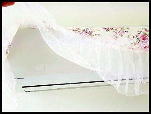エアコンカバー 室内機 レース 薔薇 おしゃれ 完全ガード式タイプ母の日ギフト