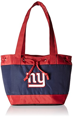 NFL New York Giants Womens Fashion Insulated Lunch Tote with Embroidered Logo by Little Earth