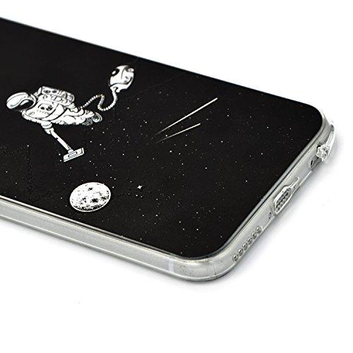 Sunroyal TPU Cáscara iPhone 5 se 5s Funda Silicona de Gel Ultra Delgado Carcasa [Anti-Arañazos] Case Cover Flexible Bumper Parachoques Funda [Anti-golpes] Smartphone Accesorios Caja del Teléfono para  A-01