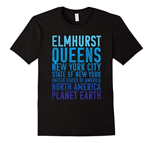 Elmhurst Shirt : Queens New York of Planet Earth - Elmhurst Queens