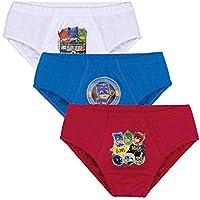 Cueca Pjmasks Slip - Kit com 3 Unidades (Infantil)