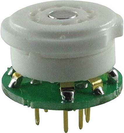 1Piece Gold Mini 6U8A 6U8 ECF82 TO instead 7199 tube converter adapter