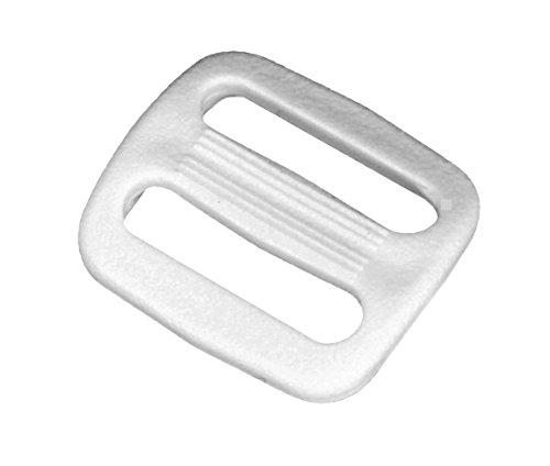 Buy 3/4 inch white plastic buckles
