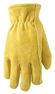 Wells Lamont Ultra Comfort Sueded Deerskin Youth Gloves, Youth (1087Y)