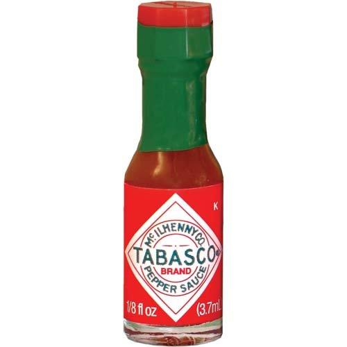 TABASCO brand Pepper Sauce''Miniatures'' case of 500-1/8oz.