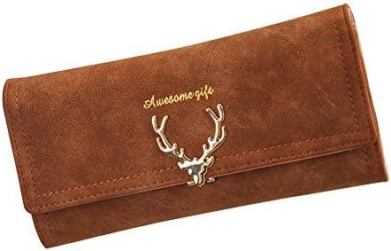 Amazon.com: Wallet Women Purse High Capacity Fashion Long Female Deer Head Design Coin Purses Ladies Clutch: Kitchen & Dining