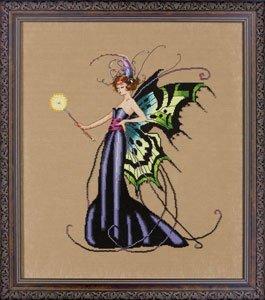 Mirabilia August Peridot Fairy Counted Cross Stitch (Fairy Pattern)