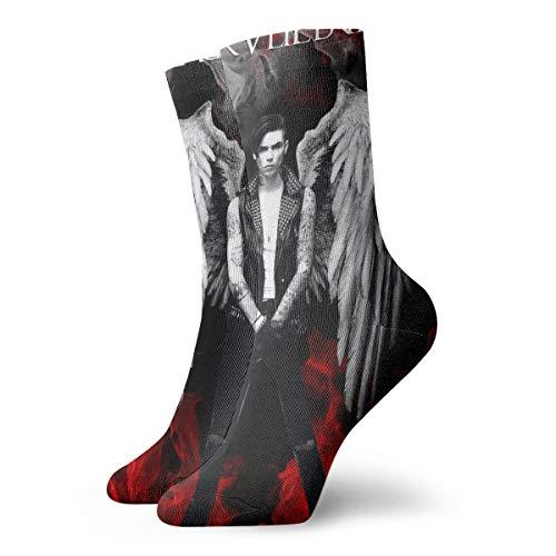 - ThomasCGaona Black Veil Brides Personality Moisturizing Perspiration Unisex Antibacterial Crew Socks Socks Patterned Socks Sports Socks