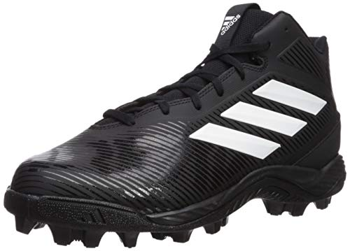 - adidas Men's Freak Mid MD Wide Football Shoe, White/Black, 10.5 W US