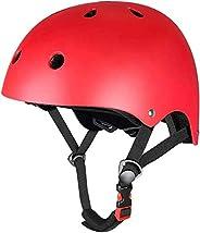 Geelife Skateboard Helmet Adjustable Impact Resistance Adults Youths Teens Kids Girls Boys Helmets for Multi-S