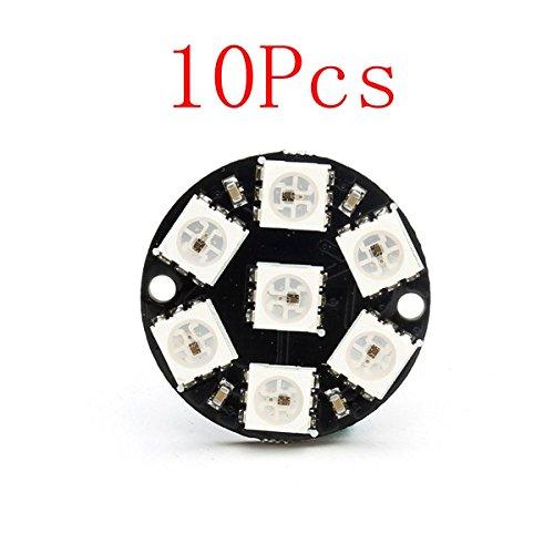 10Pcs CJMCU 7 Bit WS2812 5050 RGB LED Driver Development Board by BephaMart