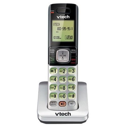 ry Cordless Handset, Silver/Black | Requires VTech CS6719, CS6729, CS6829, or CS6859 Series Phone System to Operate ()
