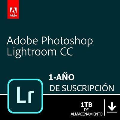 Adobe Lightroom 1TB   1 Año   PC/Mac   Código de activación enviado por email