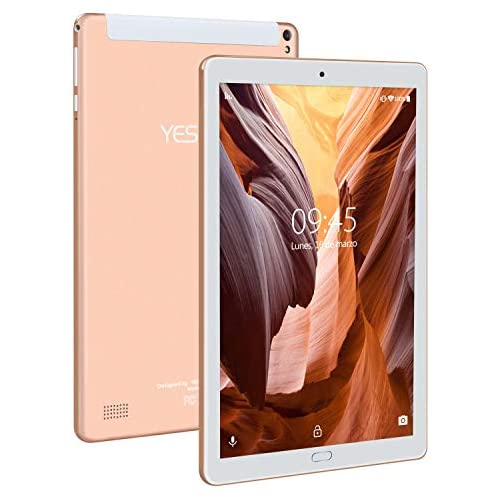 chollos oferta descuentos barato 4G Tablet 10 Pulgadas YESTEL X2 3GB 32GB Android 8 1 Tableta con Funda 4 Core 8000mAh 1280X800 HD IPS