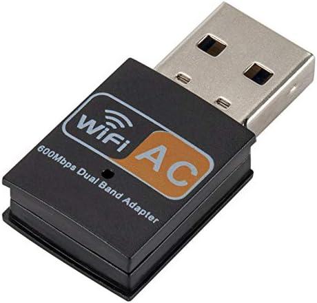 2.4GHz 5GHz Tarjeta de Red informática AC600Mbps USB Antena ...