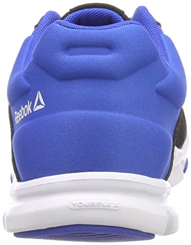 0 Mt 10 Noir Vital Train Pour Yourflex Baskets noir Blanc Hommes Bleu Reebok qa74w1n
