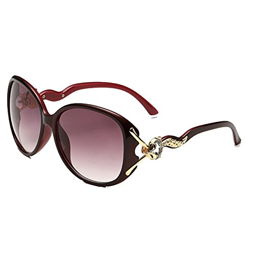 Sinkfish SG80043 Sunglasses for Women,Anti-UV & Elegant Oval Sunshades - UV400 - Price Sunglasses Occhiali
