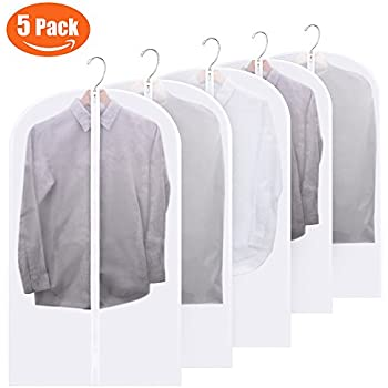 Amazon Com Ikea Clothes Cover Set Of 6 Transparent