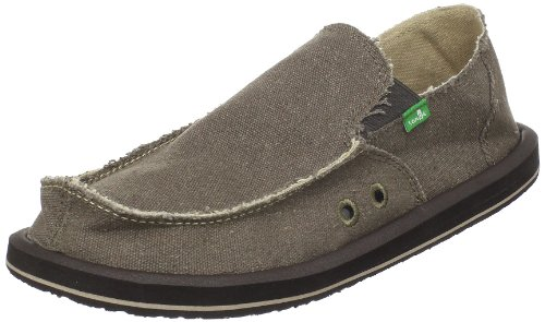 Sanuk Vagabond Loafers Shoes Brown Mens