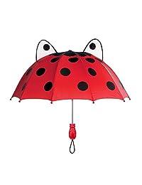 Kidorable Ladybug Umbrella, Red, One Size
