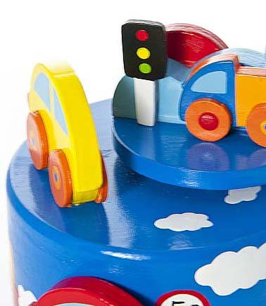 Baby Boy Car Themed Music Box Gift