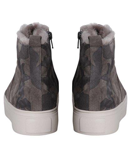 Kennel & Schmenger Damen Sneakers Camouflage Grau