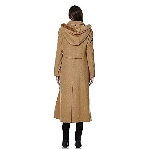 Cashmere Anastasia Collar Large Wrap Womens Chameau Wool Belted Winter Coat 7UrfUX6