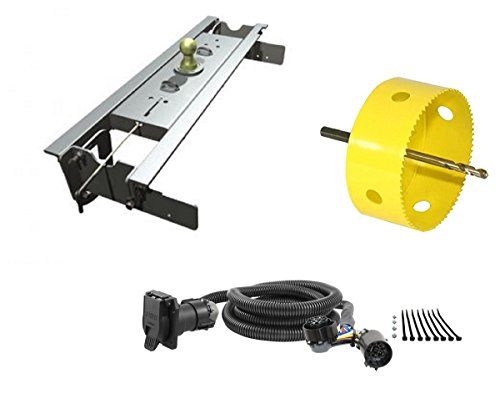 (B&W Hitches GNRK1108 Turnoverball Gooseneck Hitch Kit w/ 4