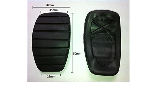 Amazon.com: Brake and Clutch Replacment Pedal Covers Pad Rubbers for Renault Cars: Car Electronics