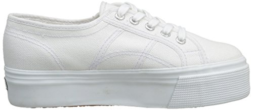 Superga 2790 Cotw Linea Up and Down, Sneakers Basses femme Blanc (White)