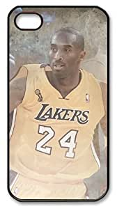 icasepersonalized Personalized Protective Case for iPhone 4/4S - Kobe Bryant, NBA Los Angeles Lakers