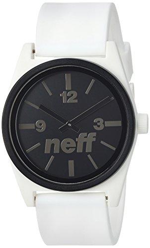 Neff Men's Duo Watch, White, One Size