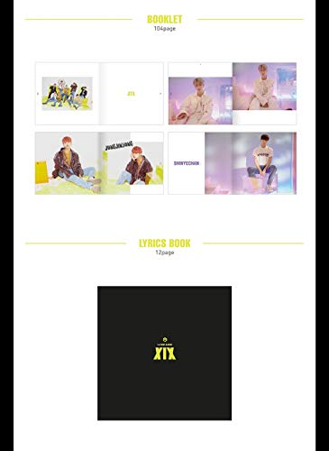1THE9 - XIX (1st Mini Album) CD+104p Booklet+2Photocard+12Lyrics Book+1Speical Card+1Standing Photo+Folded Poster by POCKETDOL STUDIO (Image #2)