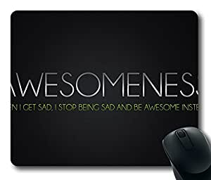 Awesomeness 3 Mouse Pad Desktop Laptop Mousepads Comfortable Office Mouse Pad Mat Cute Gaming Mouse Pad