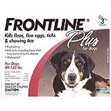 FRONT LINE PLUS FLEA & TICK 89-132LBS by Merial