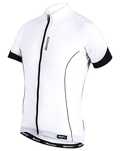 Santini 365 Men s Ora Short Sleeve Jersey - White white 7a9fef6b9