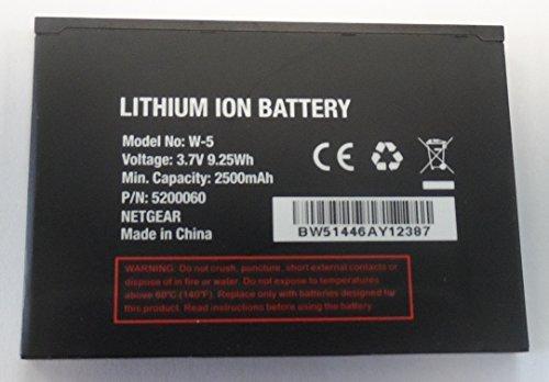 2500Mah Netgear Sierra Wireless W 5 W5 Extended Battery For Sprint Aircard 770S  Aircard 771S At T Unite  Ac770s   Unite 344B Mobile Wifi Hotspot Netgear 5200031 5200060 5200077