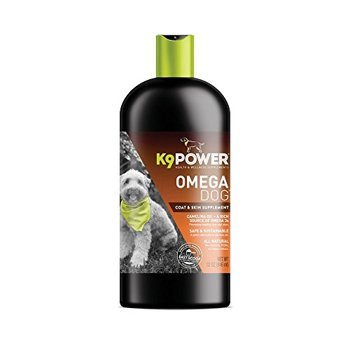 K9-Power Omega Dog - Healthy Pure Organic Omega3-32 Ounce